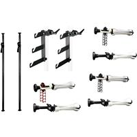 Complete Deluxe AutoPole/Expan Background Set with Deluxe Black AutoPoles, Background Holder Hook Se Product picture - 715