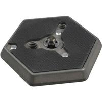 "Bogen - Manfrotto Rapid Connect Mounting Plate (1/4""-20 Flush Mount) for 3038, 3039, 3047, 3055 (Spare) and 3057 (#3041) image"