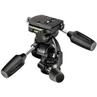808RC4 3-Way Pan/Tilt Head with Quick Release - Supports 17.6 lbs Product image - 448