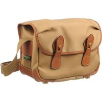 L2 (Alice) Camera Bag, Khaki Canvas with Tan Leather Trim and Brass Fittings Product image - 318