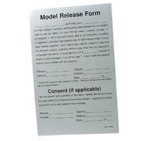 Model Release Forms for Photographers - 50 Sheets image