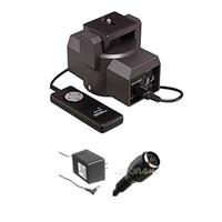 Bescor MP101 Video Motorized Pan Head - Bundle - with Bescor AC Cord f/Motorized Pan Head & Bescor Motorized Pan Head 20' Extension Cord