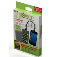 "PerfPower EZ Boost Portable Mobile Charger - with 6 ""AA"" Batteries and 18"" USB to Micro-USB Cable"