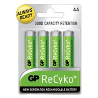 4-Pack GP Recyko 2100mAh AA NiMH Pre-Charged Batteries $7.99