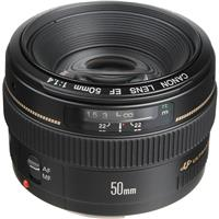 EF 50mm f/1.4 USM Standard AutoFocus Lens - USA Product image - 192