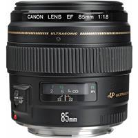 2519A003 Canon EF 85mm f/1.8 USM AutoFocus Telephoto Lens - USA