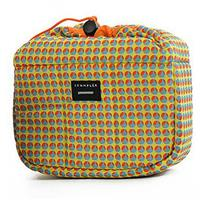Crumpler The Haven (Large) Camera Pouch - Limited Edition - Light Blue Dot/OrangWith FREE Tuft (Small) Camera Pouch - Limited Edition - Light Blue Dot/Orange (a $22 Value)