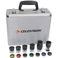 "Accessory Kit with 5-1.25"" Plossls, 1.25"" 2x Barlow & 1.25"" Filter Set. Product image - 586"