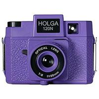 "Holga Holgawood Series 120N Medium Format Fixed Focus Camera with Lens - ""The Camera Formally Known As Holga"""