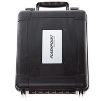 "Flashpoint Water resistant Case with Diced, Cubed Foam Insert, #UW1400 Interior Dimensions: 12.5x10.5x5.75"" Black"