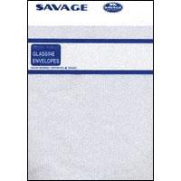 Savage 120 Size Archival Glassine Envelopes, Holds a Strip of Four 6x6cm Frames, Pack of 50. image