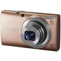 "Canon PowerShot A4000 IS Digital Camera, 16Megapixels, 28mm Wide-Angle Lens, 3.0"" LCD Display, 8x Optical Zoom, Built-in Flash, Pink"