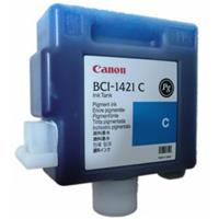 BCI-1421C PG Cyan Ink Cartridge for the imagePROGRAF W8400 Inkjet Printer. Product image - 482