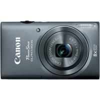 Canon PowerShot ELPH 130 IS Digital ELPH Camera with 16.1 Megapixel, Built-in Wi-Fi, 8x Optical Zoom, 28mm Wide-Angle Lens, 720p HD Video, Grey Finish