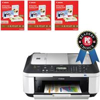 Canon PIXMA MX340 Wireless All-In-One Inkjet Printer + 60 Greeting Cards $39.92