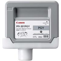 PFI-301PGY Photo Gray Ink Tank for the imagePROGRAF iPF8000 and iPF9000 Inkjet Printers, 330 ml. Product image - 471