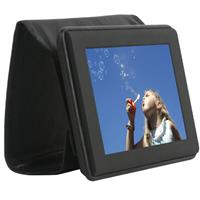"Jobo 7"" X7 Portable Digital Photo Frame with 1 GB Internal Memory & Internal Li-Ion Battery image"