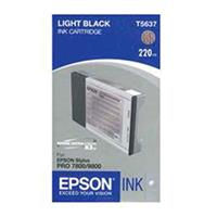 Light Black UltraChrome K3 Ink Cartridge for the Stylus Pro 7800 and 9800 Inkjet Printers, 220ml Product image - 729