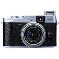 Fujifilm X20 Digital Camera, 12 Megapixel,28-112mm F2-2.8 Lens - Silver