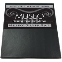 "Silver Rag, Archival Fine Art Gloss Inkjet Paper, 300gsm, 15mil, 17x22"", 25 Sheets. Product image - 522"