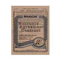 Mack 3 Year Digital Still Camera Extended Warranty (for cameras with a retail value of up to $250.00) image