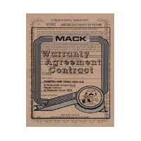 Mack 3 Year Digital Still Camera Warranty (for cameras with a retail value of up to $500.00) image
