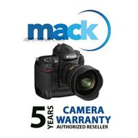 Mack 5 Year Digital Still Camera Extended Warranty for cameras with a retail value of up to $500.00 image