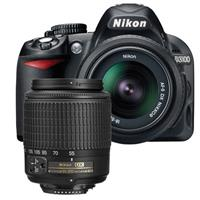 Nikon D3100 14.2 Megapixel Digital SLR Camera with 18-55mm NIKKOR DX Lens & 55-200mm NIKKOR DX Lens
