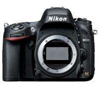 Nikon D600 Digital SLR Camera Body 24.3 Megapixel, FX Format - USA Warranty