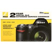 Nikon 2 - Year Extended Service Coverage Agreement for the Nikon D90 and D80 Digital SLR Camera image