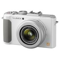 Panasonic Lumix DMC-LX7 10.1 Megapixels Digital Camera with 3.8x24mm Wide-Angle Leica Optical Zoom Lens, 9 FPS High Speed Continuous Shooting, White