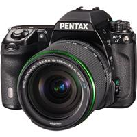 "Pentax K-5 II Digital SLR Camera with DA 18-135 WR Lens, Anti Aliasing Filter, 16.3 MP, SAFOX X Autofocus, 3"" LCD, Shake Reduction, Full HD 1080p Video"