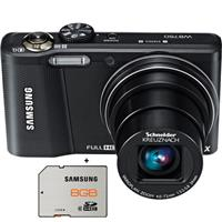 Samsung WB750 12.5MP Digital Camera Bundle with FREE Samsung 8GB Memory Card