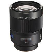 135mm f/1.8 Sonnar T* Carl Zeiss Alpha A DSLR Mount Lens Product image - 3
