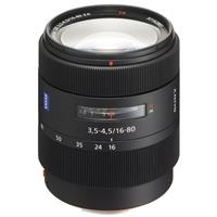 16-80mm f/3.5-4.5 Vario-Sonnar T* DT Carl Zeiss Alpha A DSLR Mount Lens Product picture - 774