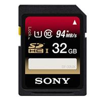 Sony 32GB SDHC UHS-1 Memory Card, 94 MB/s Read Speed