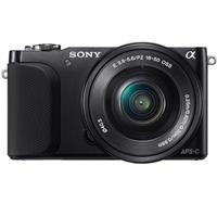Sony Alpha NEX-3NL with 16-50mm Lens.