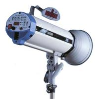 Versalight D-1000 Monolight, 1000 Watt Second Digitally Controlled Strobe. Product image - 146