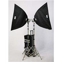 JTL HL-2000 Soft Box Kit with 2 1000-watt Fan Cooled Superlights