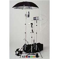 TL-365 Light Kit, 2 Versalight, 1 Slave Strobe with Stands, Umbrellas, & Accessories Product image - 219