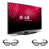 LG 60PM6700 60 inch 1080p 600Hz 3D Plasma HDTV with Smart TV + (2) Two LG AG-S350 PDP SG 3D Glasses