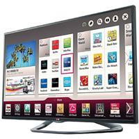 """LG 47LA6200 47"""" Class 1080p Cinema 3D Smart TV, TruMotion 120hz Refresh Rate, 6 Sound Modes, Dual Core Processor, Triple XD Engine"""