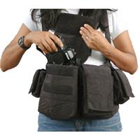 Womens Digital Chestvest, Digital SLR Camera & Lens Carry System, Black. Product image - 721