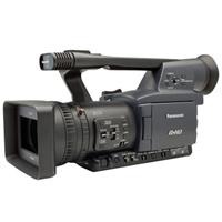 "Panasonic AG-HPX170 1/3"" 3 CCD P2 HD Handheld Camcorder, 13x Optical Zoom, 3.5"" LCD Screen, 1080i, 720p, 480i Recording, 4:2:2 Independent Frame Production Quality (P2 Card Not Included)"