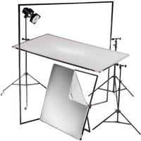 "Litepanel 39x72"" Aluminum Frame Kit with Soft Gold & Translucent Fabrics. Product picture - 636"