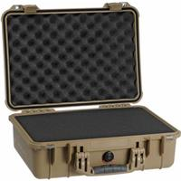 1500 Watertight Hard Case with Foam Insert - Desert Tan Product image - 781