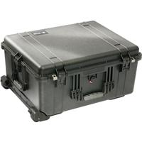 1610 Watertight Hard Case with Cubed Foam & Wheels - Black Product image - 354
