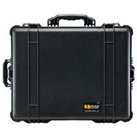 1610 Watertight Hard Case with Dividers & Wheels - Charcoal Black Product picture - 357