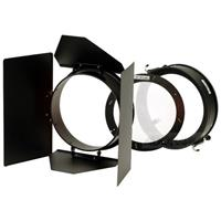 "4-way Barndoor Set with Diffuser for all 7.5"" Reflectors. (PL7BDK) Product image - 345"