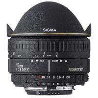 15mm f/2.8 EX DG AutoFocus Diagonal Fish-Eye Lens with Hood & Gel Holder for Pentax AF Cameras - Product picture - 524